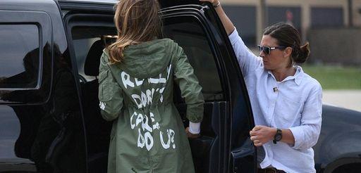 First lady Melania Trump departs Andrews Air