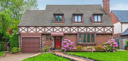 The three-bedroom Tudor was built in 1935.