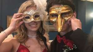 Mount Sinai High School students celebrate in masquerade