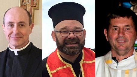 From left, The Rev. Randolph Jon Geminder, The