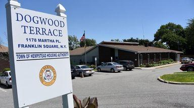 Construction to rebuild the Dogwood Terrace Senior Center,