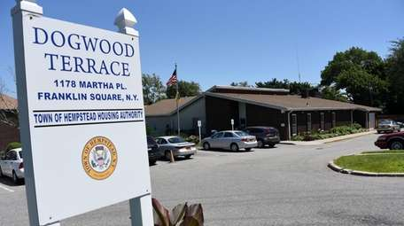 Construction to rebuild the Dogwood Terrace Senior Center,