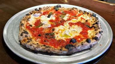 A classic Margherita is one of the pizzas