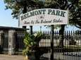 A backstretch worker at Belmont Park died June