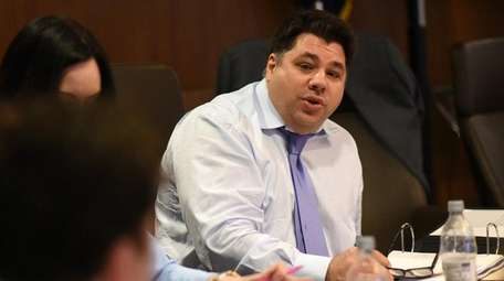 Nassau University Medical Center chairman George Tsunis at