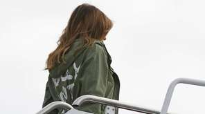 First lady Melania Trump turned heads on Thursday,