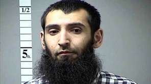 Undated photo of terror suspect Sayfullo Saipov from