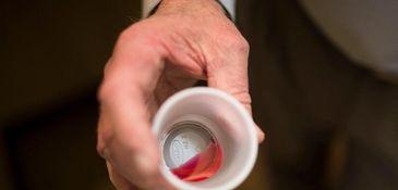 A dose of 35 milligrams of methadone is