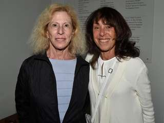 Anita Klempner and Madeline Williamson attend Stories From