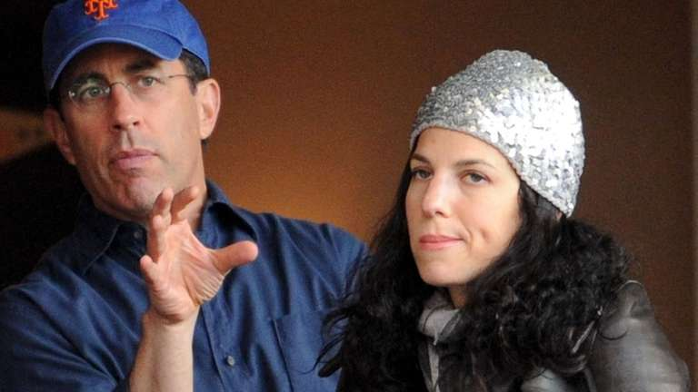 Jerry Seinfeld and wife Jessica Sklar Seinfeld