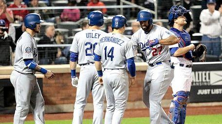 Los Angeles Dodgers left fielder Matt Kemp is