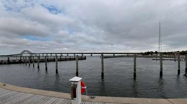 The new overnight East Marina at Robert Moses