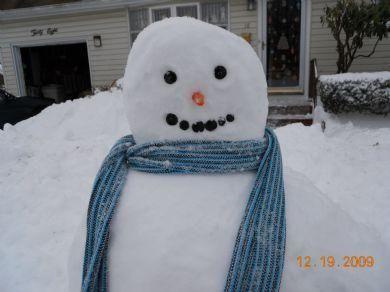 Brandons snowman