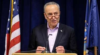 Sen. Chuck Schumer on Sunday urged installation of