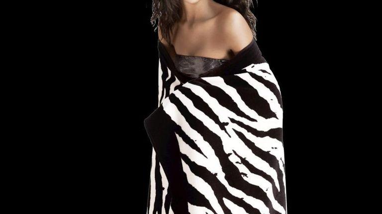Get this Michael Stars zebra print towel free,