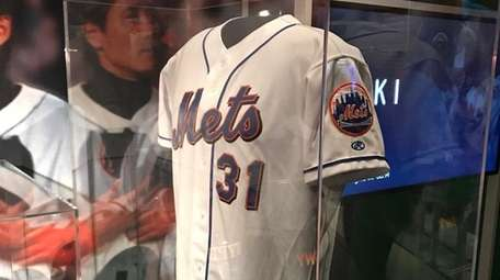Mike Piazza's jersey from the Mets' first home