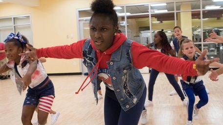 Alexa Easter, 11, Ani King, 13, Kalia Edwards,
