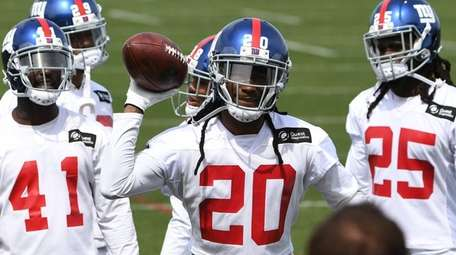 Giants defensive back Janoris Jenkins during the first