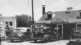 Photo from about 1955 -1956. Bigelow's Seafood in