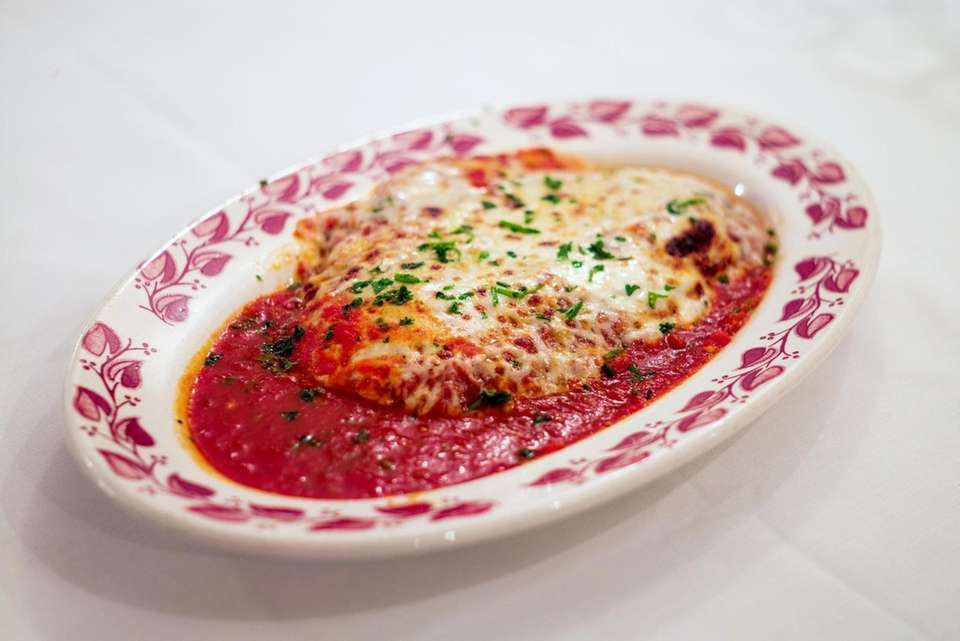 Veal Parmigiana has been a mainstay at Casa
