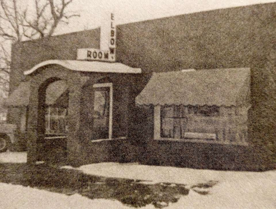 The Elbow Room restaurant in 1959.