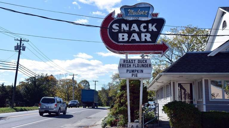 Since 1950, the Modern Snack Bar has been