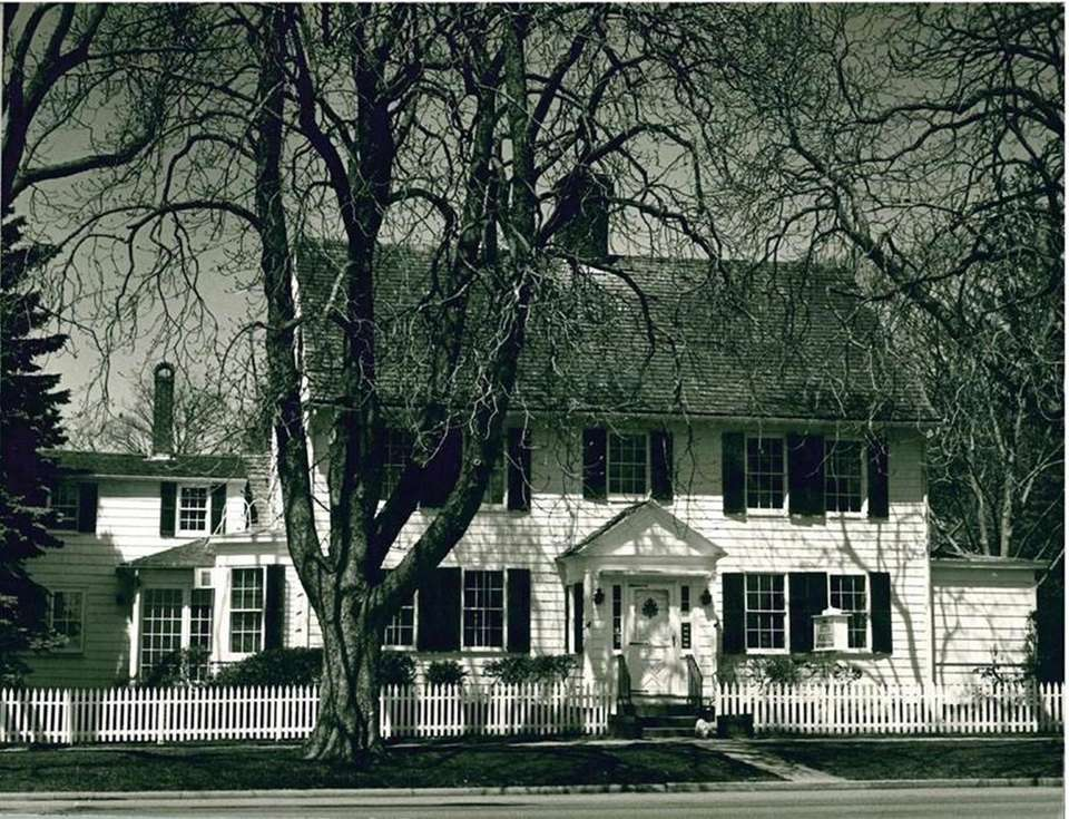 The 1770 House in Southampton, circa 1963.