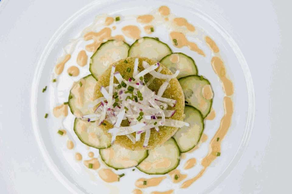 Montauk fluke tartare, as served at The 1770