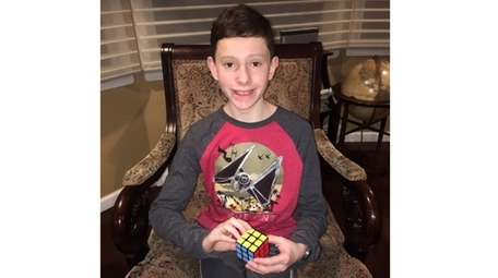 Kidsday reporter Jacob Leshnower can solve a Rubik's