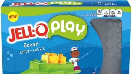A Jell-O Play Ocean build + eat kit.
