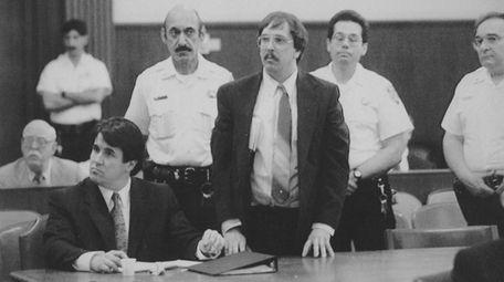 Joel Rifkin listens to the guilty verdict against