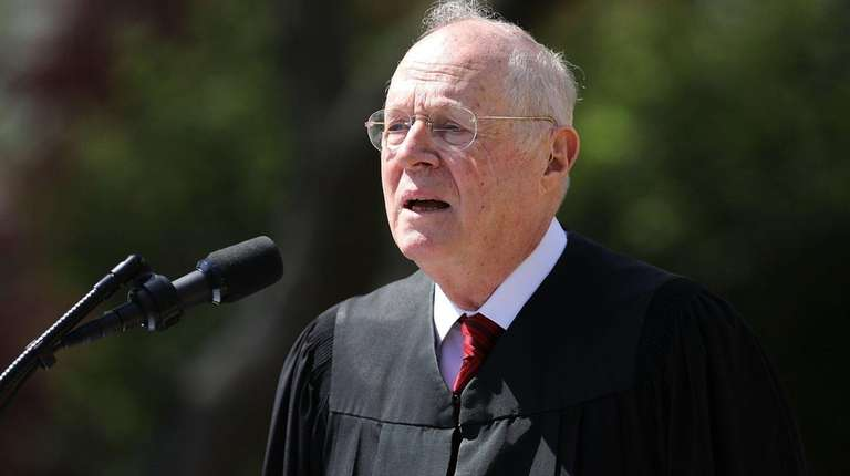 Supreme Court Justice Anthony Kennedy, first nominated to