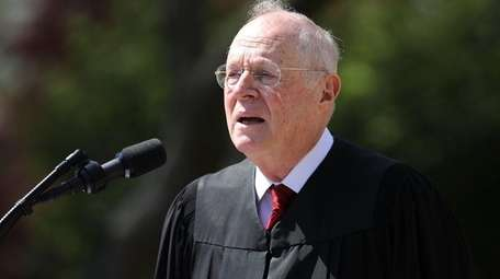 Supreme Court Justice Anthony Kennedy, seen here on