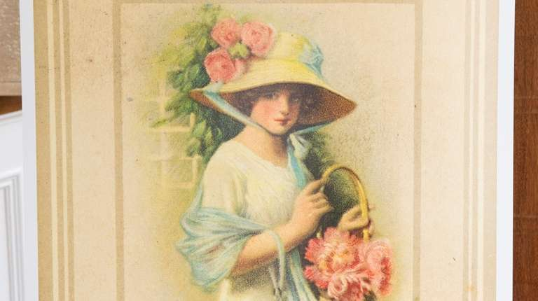 An detail of a Lyzon advertising postcard.