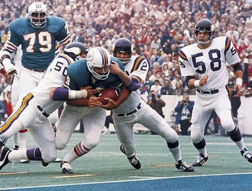 SUPER BOWL VIII: MIAMI 24, MINNESOTA 7 Rice