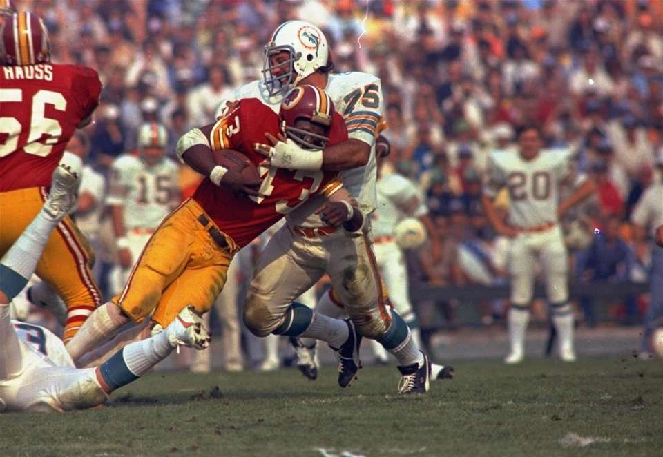 SUPER BOWL VII: MIAMI 14, WASHINGTON 7 Memorial