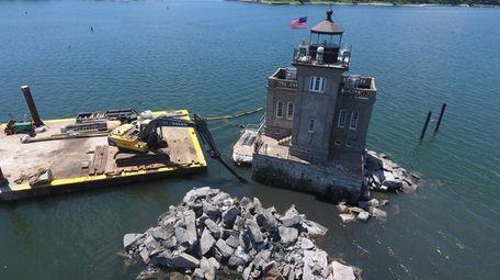 The $1.1 million renovation of the deteriorating Huntington