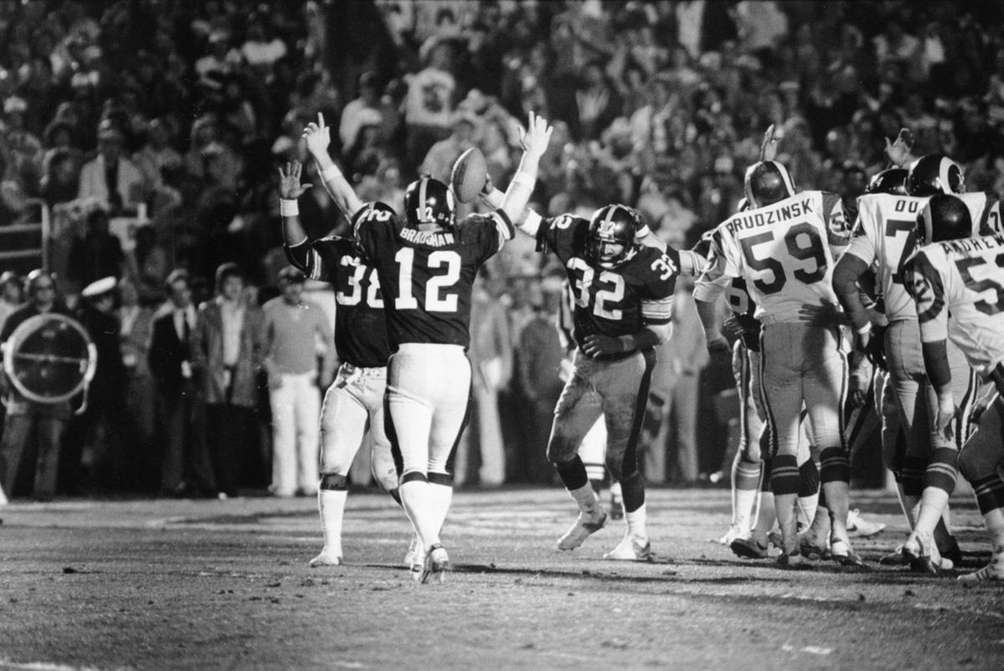 SUPER BOWL XIV: PITTSBURGH 31, L.A. RAMS 19