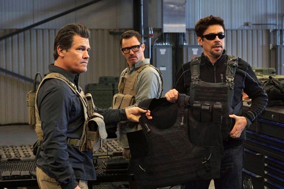 Benicio Del Toro's quiet assassin Alejandro, an enigmatic