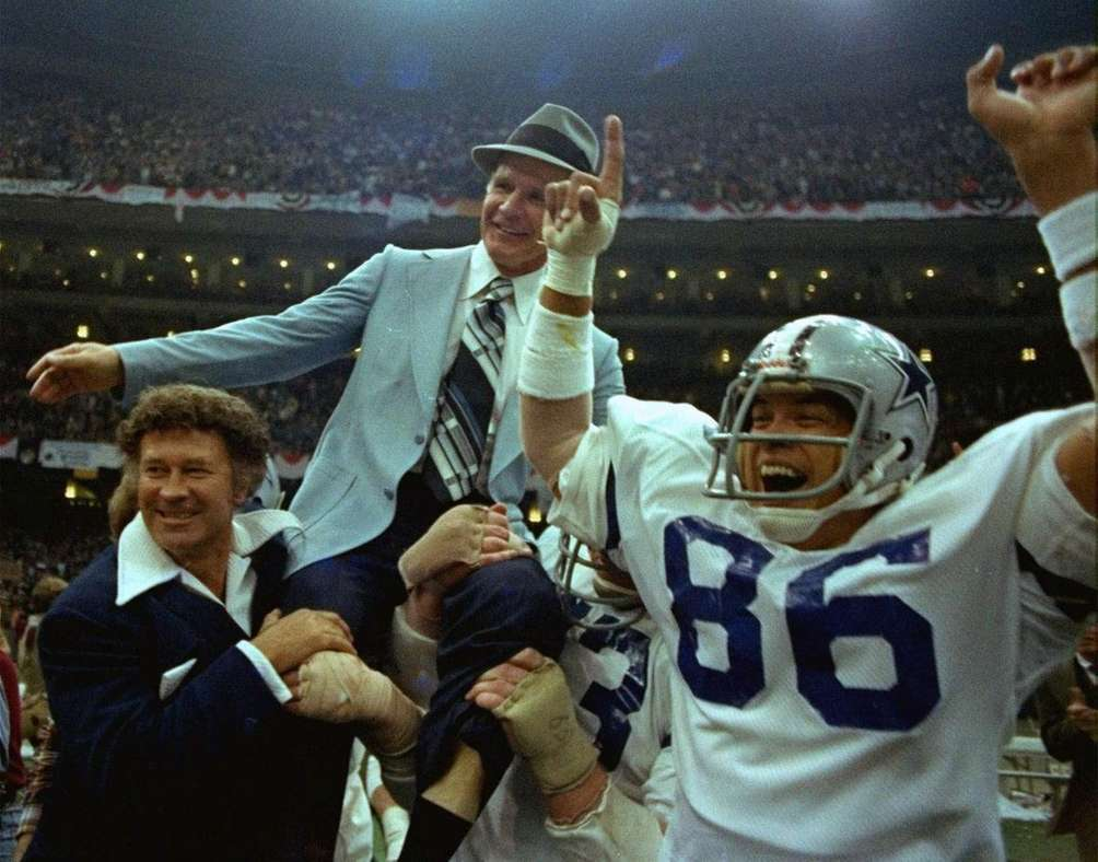 SUPER BOWL XII: DALLAS 27, DENVER 10 Superdome
