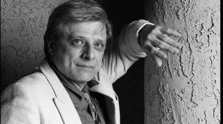 Science fiction writer Harlan Ellison on Nov. 3,