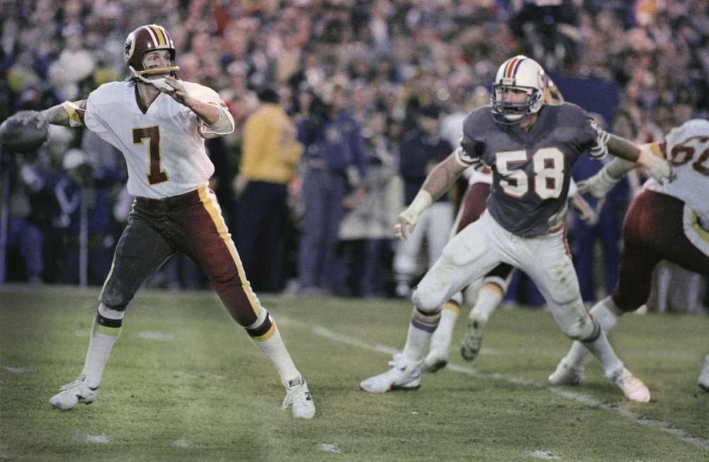 SUPER BOWL XVII: WASHINGTON 27, MIAMI 17 Rose