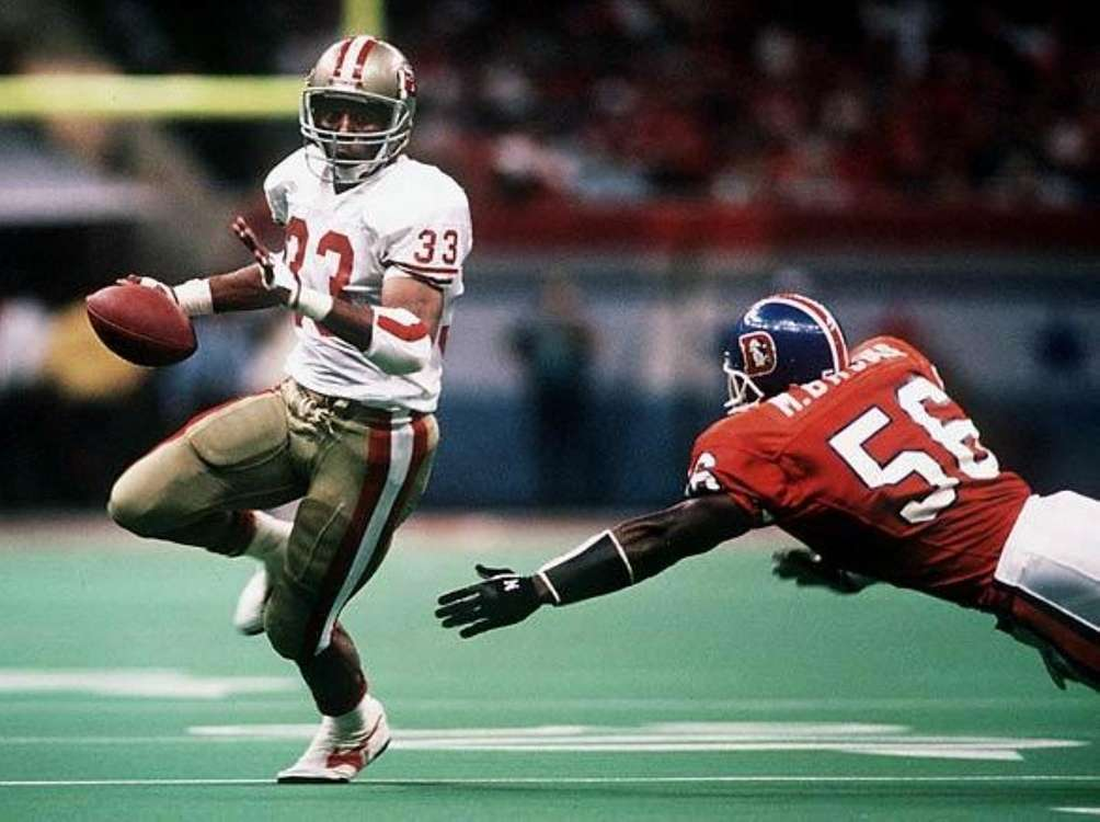SUPER BOWL XXIV: SAN FRANCISCO 55, DENVER 10