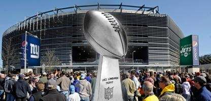 Stadium will host the 2014 Super Bowl . (Credit: Newsday Illustration