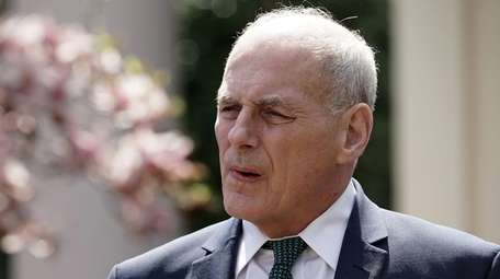White House Chief of Staff John Kelly after