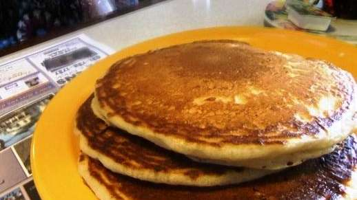 The pancakes at Country Kitchen in Smithtown