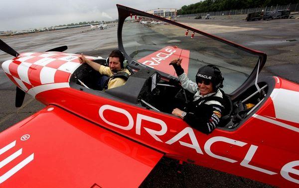 Legendary aerobatic air show performer Sean D. Tucker,