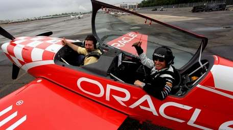 Legendary aerobatic air show performer Sean D. Tucker,