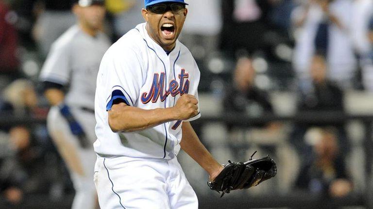 New York Mets relief pitcher Francisco Rodriguez (75)