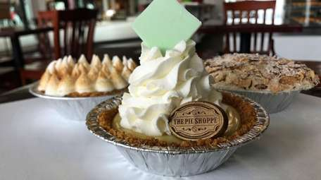 Key lime pie is one of the specialties